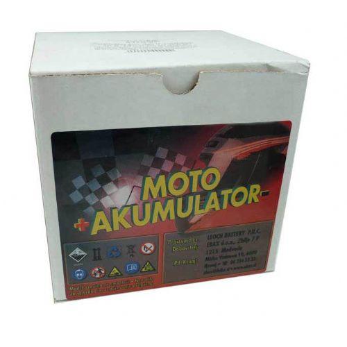 Akumulator za motor UPLUS 6N4-2A-4 (Običajni, 6V 4Ah 71x71x96)