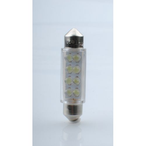 LED SVETILKA 2 KOS  L024 - C5W 41MM 8LED