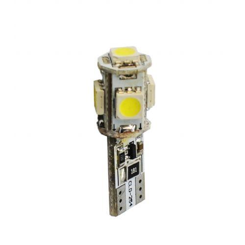 LED SVETILKA 2 KOS  L321 - W5W 5XSMD5050