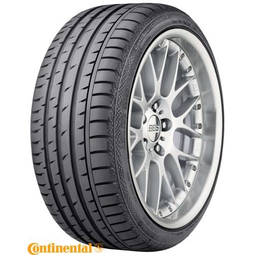 Letne gume CONTINENTAL ContiSportContact 3 225/45R17 91W * r-f