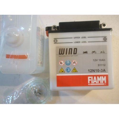 Moto akumulator 12V 10 Ah FIAMM 12N10-3A (135x90x145)