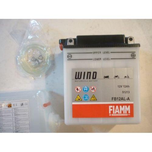 Moto akumulator 12V 12 Ah FIAMM FB12AL-A (134x80x160)