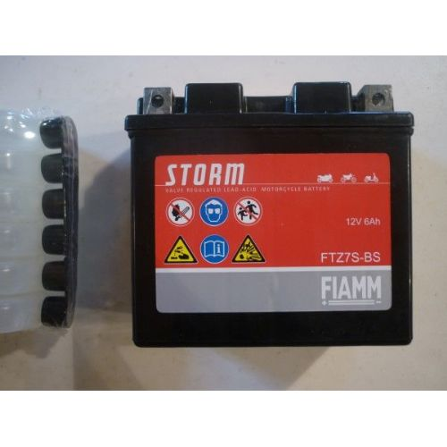 Moto akumulator 12V 6 Ah FIAMM FTZ7S-BS (113x70x105)