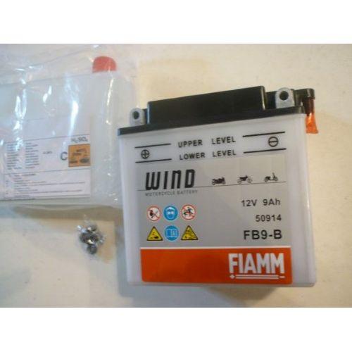 Moto akumulator 12V 9 Ah FIAMM FB9-B (135x75x139)
