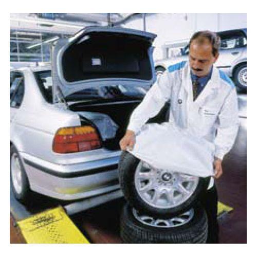 PE HD VREČA BELA 600 (2x200) x 1000 (0,02mm) - Vreče za pnevmatike. 200/1