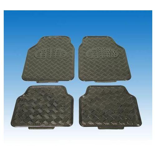 uniTEC Set gumijastih podlog 'Carbon'