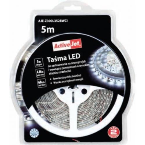 ActiveJet LED trak za notranjo uporabo, 5 m, hladna svetloba - AJE-300L3528WCI