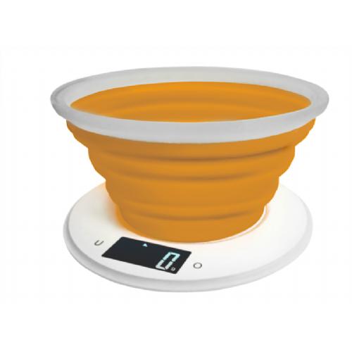Adler kuhinjska tehtnica oranžna - AD3153o