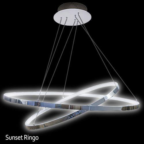 LED Viseča luč Sunset Ringo