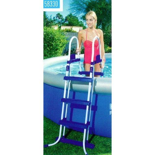 Lestev varnostna za bazen 90 - 107 cm