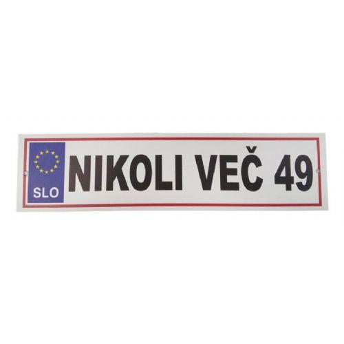 NIKOLI VEČ 49 (446)