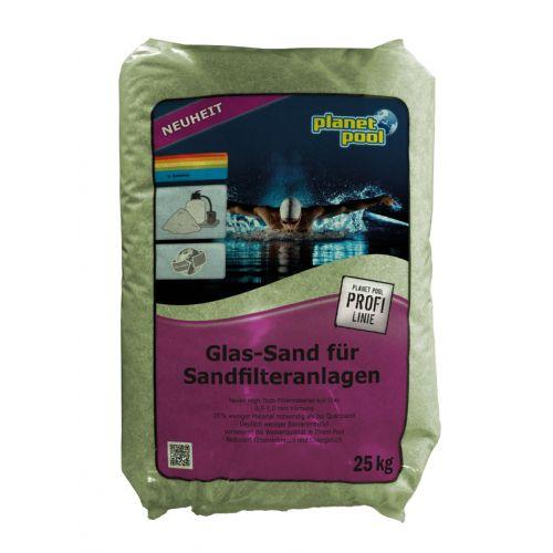 Pesek zelen, steklen 0,5-1,00mm 20kg