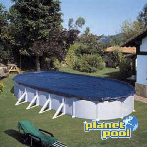 Pokrivalo GRE za bazen fi 500x300 cm - zimsko
