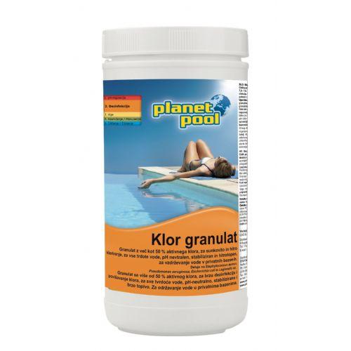 PP - Klor granulat 1 kg - hitrotopen