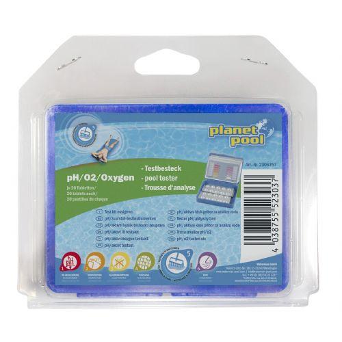 PP - Pooltester - 02/pH, aktivni kisik (blister)