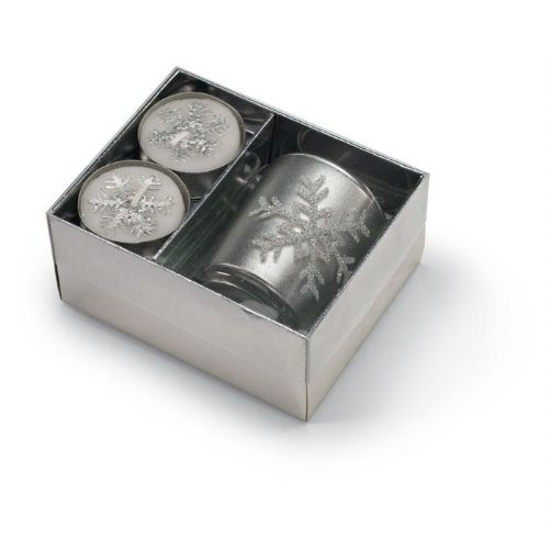 srebrni svečnik