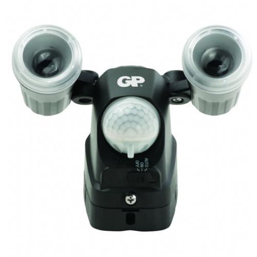 Varnostna senzorska zunanja led svetilka brezžična, baterijska GP Safeguard RF2 Outdoor Security