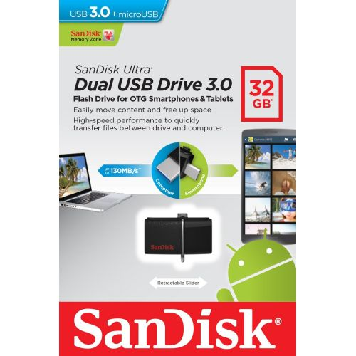 USB ključ Cruzer Dual 2 OTG 32GB USB 3.0