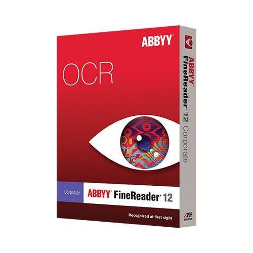 Abbyy OCR programska oprema ABBYY FineReader 12 Corporate /Concurent use / Box / UPGR (1 lic.)
