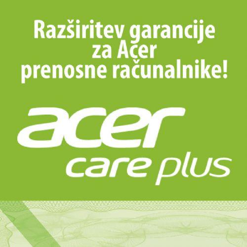 Podaljšanje garancije za Acer prenosne računalnike Carry-in na 3 leta