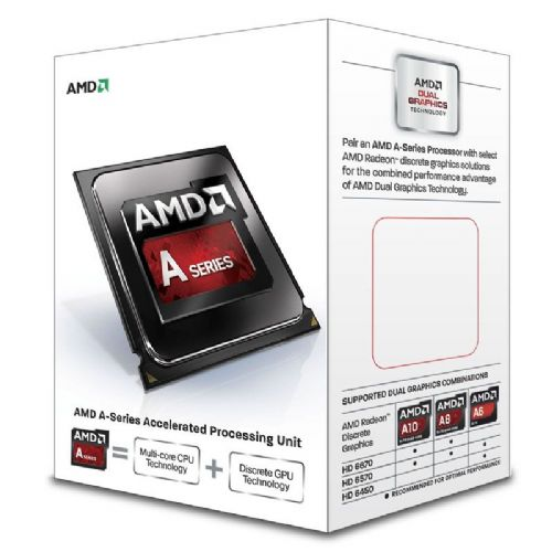 AMD A4-6300 3.7/3,9GHz FM2 BOX procesor