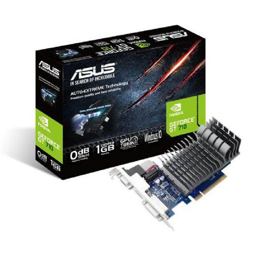 ASUS GeForce GT 710 1GB DDR3 Silent (710-1-SL) grafična kartica