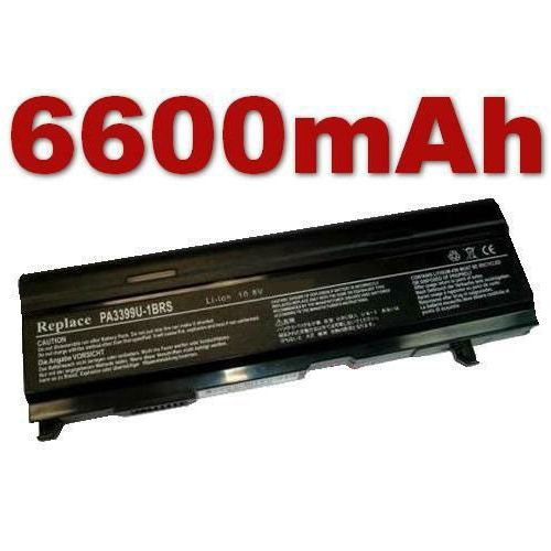 Baterija za Toshiba Satellite A105-S4000 Serie, 6600mAh
