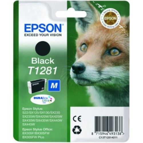 ČRNILO EPSON ČRNO S PIGMENTOM DURABrite Ultra S22,BX305F Size M (C13T12814011)