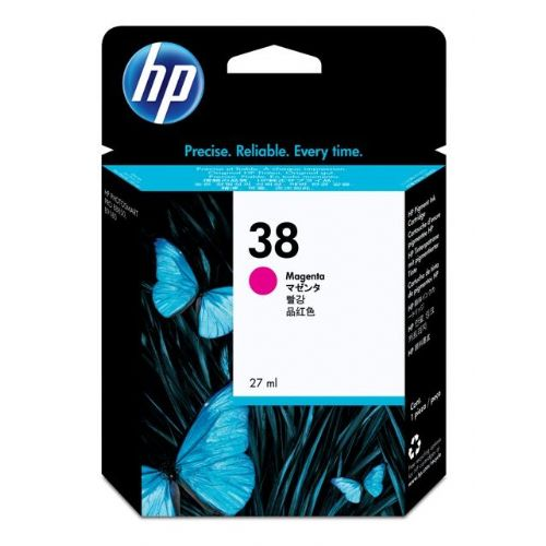ČRNILO HP MAGENTA 38 ZA PS B9180GP, B9180 , 27ML (C9416A)