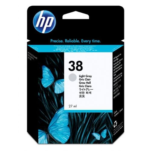 ČRNILO HP SVETLO SIVA 38 ZA PS B9180GP, B9180 , 27ML (C9414A)