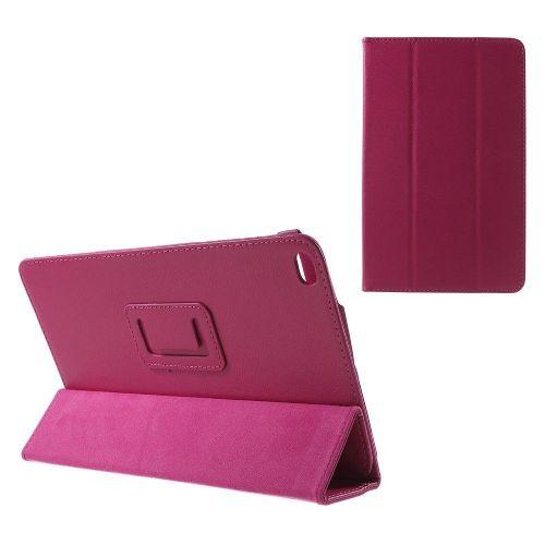 """Eleganten etui """"Litchi"""" za Huawei MediaPad T1 10 - magenta"""