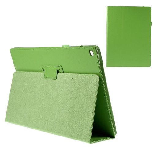 """Eleganten etui """"Litchi"""" za iPad Pro 12.9 - zelen"""
