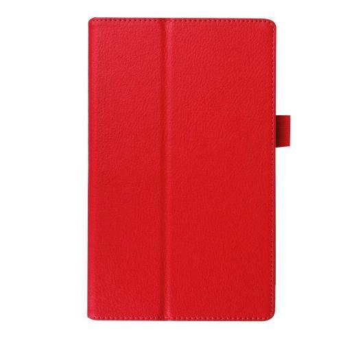 "Eleganten etui ""Litchi"" za Lenovo Tab 2 A8-50 - rdeč"