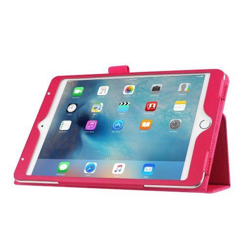 """Eleganten pameten etui """"Smart Litchi"""" za iPad Mini 4 - magenta"""