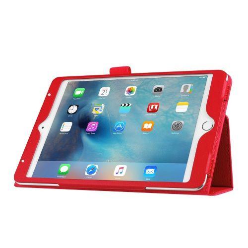"""Eleganten pameten etui """"Smart Litchi"""" za iPad Mini 4 - rdeč"""