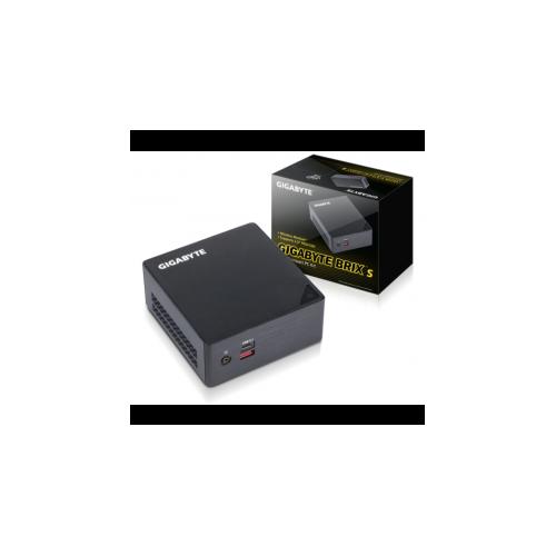 "Gigabyte BRIX i5-6200U Ultra Compact PC kit (2.8 GHz, USB3.1, DDR4, HDMI/mDP, WiFi+BT, 2.5"" HDD/SSD) - GB-BSI5HA-6200"