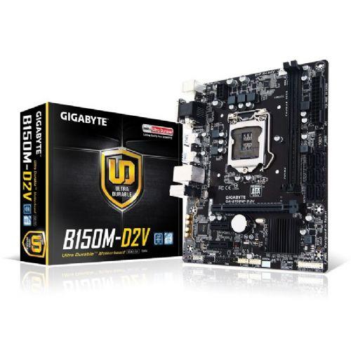 GIGABYTE GA-B150M-D2V DDR4 LGA1151 mATX osnovna plošča