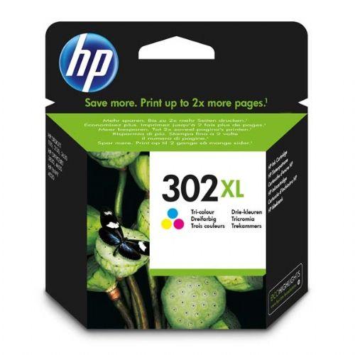 HP F6U67AE 302XL Tri color ink cartridge za 330 strani