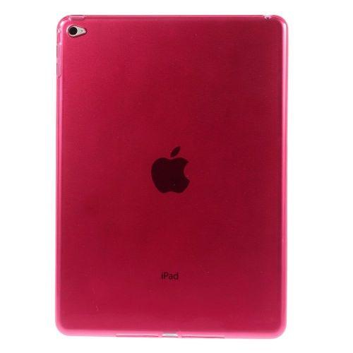 Izjemno tanek 0.6 mm TPU gel ovitek za iPad Air 2 - rdeč