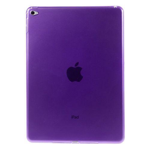 Izjemno tanek 0.6 mm TPU gel ovitek za iPad Air 2 - vijoličen