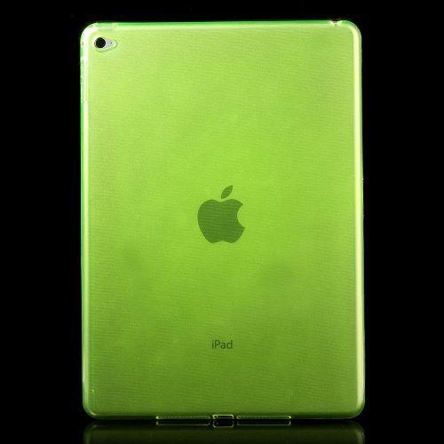 Izjemno tanek 0.6 mm TPU gel ovitek za iPad Air 2 - zelen