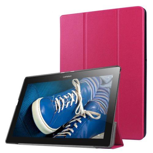"""Izjemno tanek etui """"Fold"""" za Lenovo Tab 2 A10-30 - magenta"""