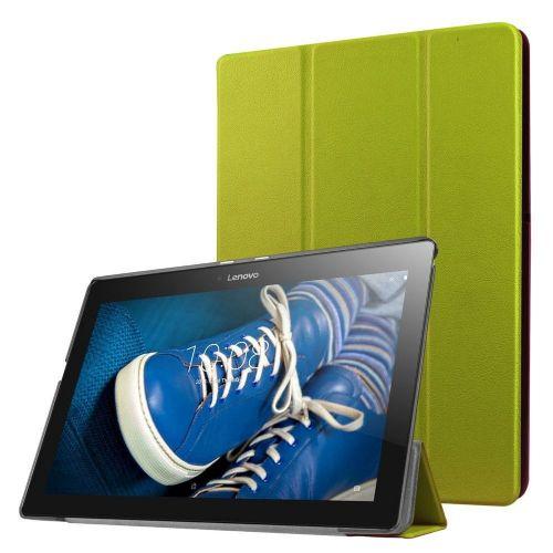 """Izjemno tanek etui """"Fold"""" za Lenovo Tab 2 A10-30 - zelen"""