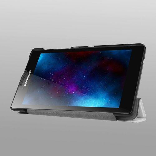 """Izjemno tanek etui """"Fold"""" za Lenovo Tab 2 A7-20 - bel"""