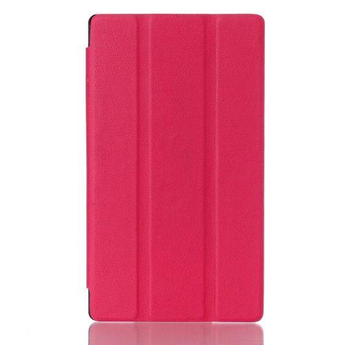 """Izjemno tanek smart etui """"Smooth"""" za Lenovo Tab 2 A7-10 - magenta"""