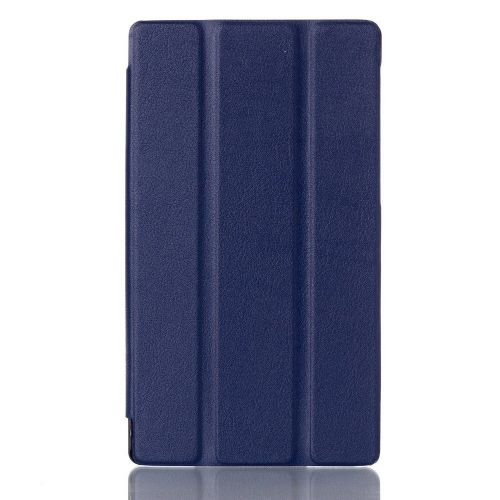 "Izjemno tanek smart etui ""Smooth"" za Lenovo Tab 2 A7-10 - moder"