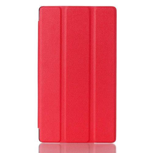 """Izjemno tanek smart etui """"Smooth"""" za Lenovo Tab 2 A7-10 - rdeč"""