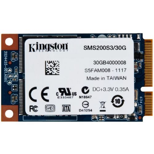 KINGSTON SSDNow mS200 30GB mSATA SATA3 (SMS200S3/30G) SSD
