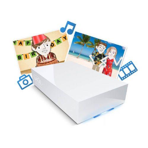 LACIE CloudBox EK 4TB NAS strežnik