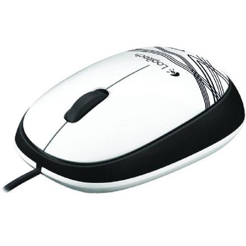 LOGITECH M105 USB optična bela miška